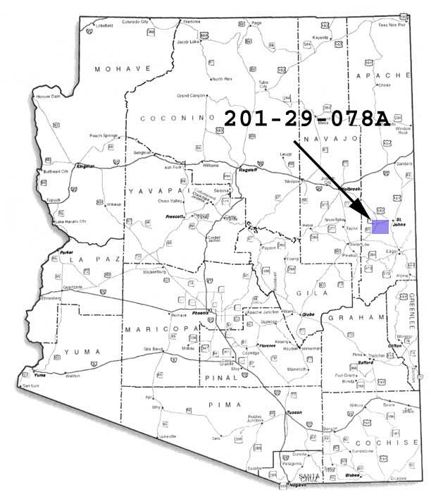 Cheap land in Apache County AZ for sale
