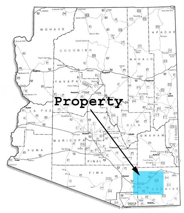 Cheap land in Cochise County Arizona for sale
