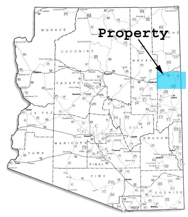 Cheap land in Apache County Arizona for sale