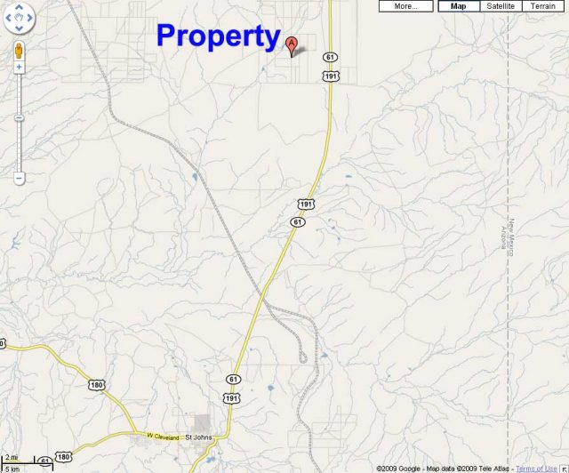 Acreage in Apache County AZ for sale