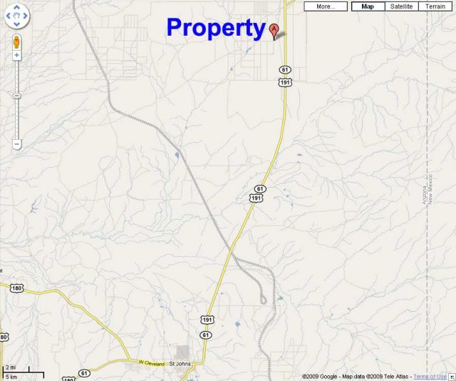 Acreage in Apache County Arizona for sale