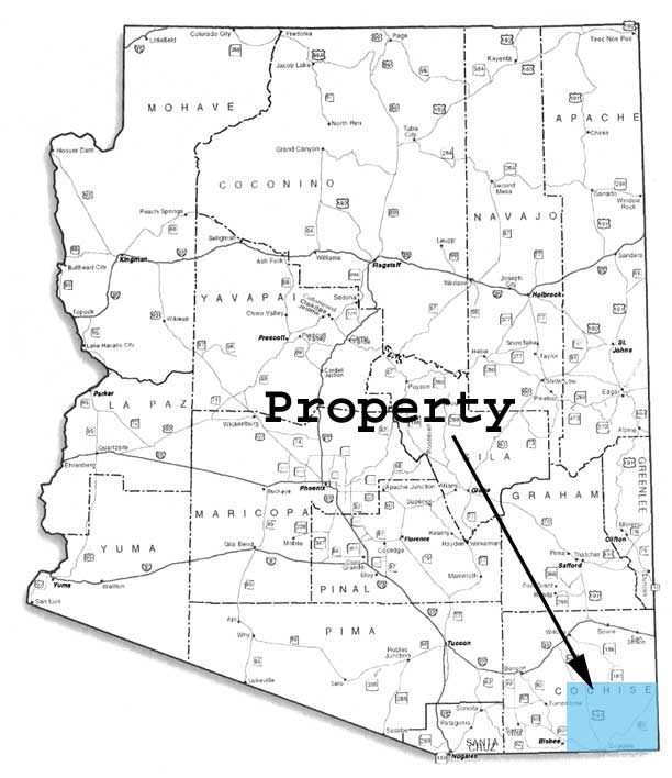 Cheap land in Cochise County AZ for sale