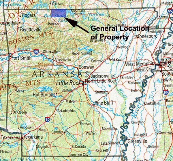 Cheap land in Boone County AR for sale