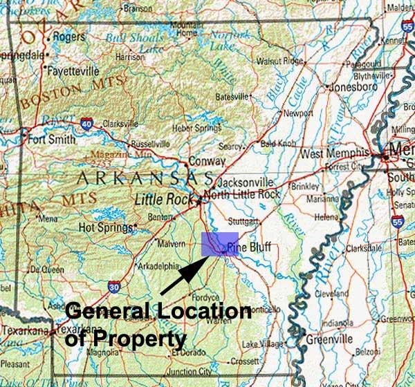 Cheap land in Jefferson County Arkansas for sale