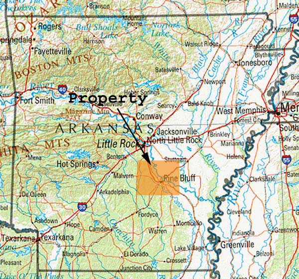 Cheap land in Jefferson County AR for sale